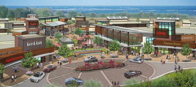 Image for: Clarksburg Premium Outlets - opening in 2015
