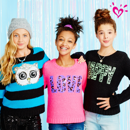 Coupon for: Justice - Grab These Soft and Cozy Sweaters