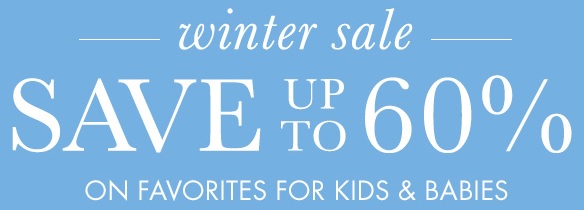Coupon for: Pottery Barn Kids, Winter SALE