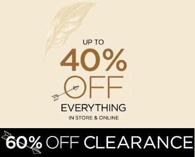 Coupon for: deb, Warm up with up to 60% off