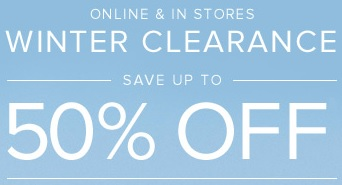 Coupon for: Brooks Brothers, Winter Clearance Blowout