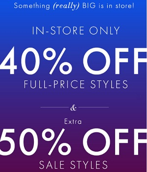 Coupon for: Ann Taylor, Receive discount on full-priced styles