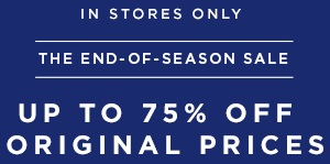 Coupon for: LOFT, The end of season SALE