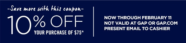 Coupon for: Gap Factory, All Jeans with discount
