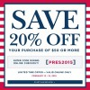 Coupon for: Crabtree & Evelyn, President's Day Savings