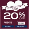 Coupon for: Jockey, Friends & Family Event, Sale coupon