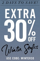 Coupon for: Forever 21, Extra discount on winter styles