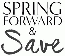 Coupon for: Banana Republic, Spring forward & save