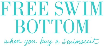 Coupon for: aerie, Free swim bottom