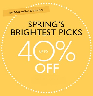 Coupon for: Nine West, Spring's brightest picks