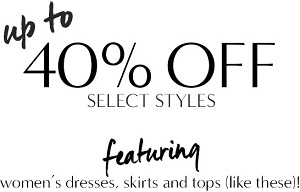 Coupon for: Banana Republic, Essential styles at a steal