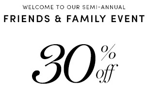 Coupon for: Cole Haan, Friends & Family Event