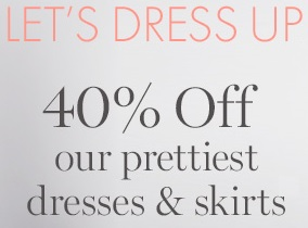 Coupon for: Ann Taylor, Let's dress up