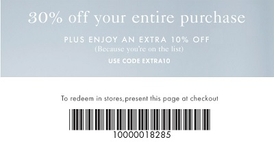 Coupon for: Ann Taylor, Receive discount on your purchase