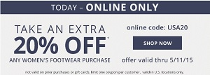 Coupon for: Payless ShoeSource, Extra discount on selected merchandise