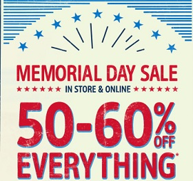 Coupon for: OshKosh B'gosh, Memorial Day Sale 2015