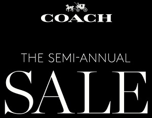 Coupon for: Coach, The Semi-Annual Sale