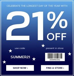 Coupon for: Jockey, Summer Solstice Savings