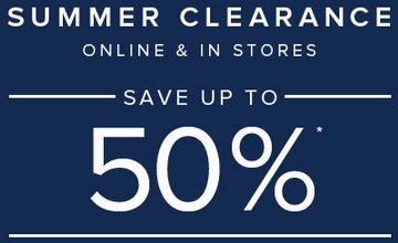 Coupon for: Brooks Brothers, Summer savings