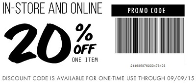 Coupon for: Print a coupon and save at Tilly's