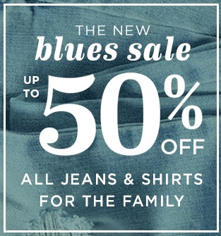 Coupon for: Old Navy & The new blues sale