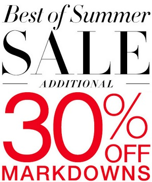 Coupon for: Best of Summer sale at BCBGMAXAZRIA