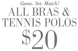 Coupon for: Selected styles for special prices at aerie