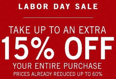 Coupon for: Labor Day Sale 2015 at Zales