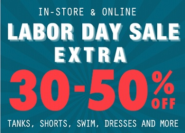 Coupon for: Tilly's, Labor Day Savings 2015