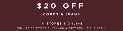 Coupon for: Visit your nearest LOFT store and get a special offer