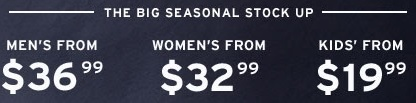 Coupon for: Levi's, Every fit with the biggest savings