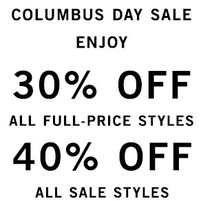 Coupon for: Columbus Day Sale 2015 started at Perry Ellis