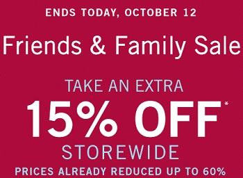 Coupon for: Last chance to save during Friends & Family Sale at Zales