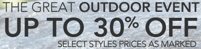 Coupon for: The great outdoor event from Easy Spirit