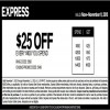 Coupon for: Mix & Match offer + printable coupon from Express