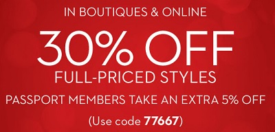 Coupon for: New reductions available at Chico's