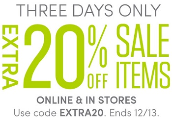 Coupon for: Extra savings at Athleta
