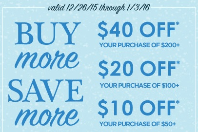 Coupon for: Buy more, save more at Kirkland's stores