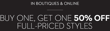 Coupon for: Shop the BOGO offer from at Chico's