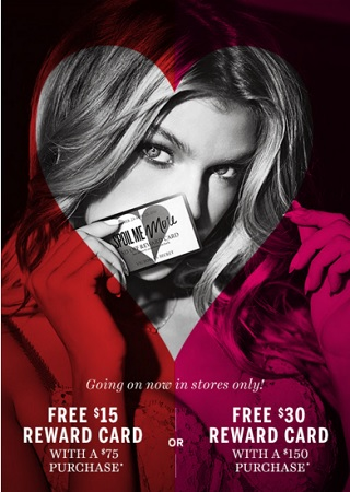 Coupon for: Get reward card at Victoria's Secret store locations
