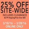 Coupon for: Site-wide Sale at Gold Toe online
