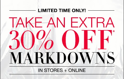 Coupon for: Sale just got better at U.S. BCBGMAXAZRIA stores