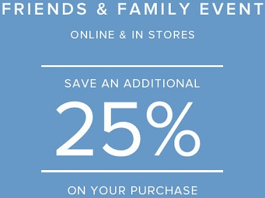 Coupon for: Friends & Family Event is on at Brooks Brothers