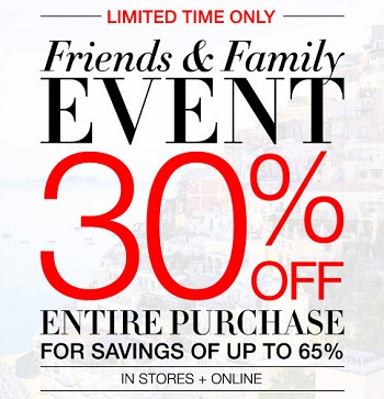 Coupon for: Save money at BCBGMAXAZRIA store locations and online