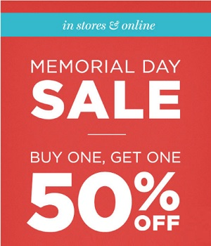 Coupon for: Memorial Day Sale 2016 at PacSun