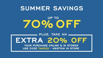 Coupon for: Summer Savings at G.H. Bass & Co. Factory Outlets