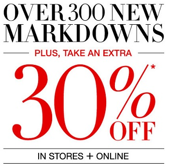 Coupon for: Extra savings at BCBGMAXAZRIA locations and online