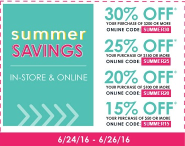Coupon for: Summer Savings at U.S. Kirkland's stores and Kirkland's online