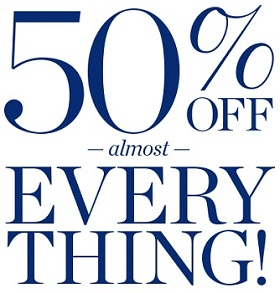 Coupon for: Almost everything on sale at Talbots