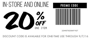 Coupon for: Shop with printable coupon at Tillys
